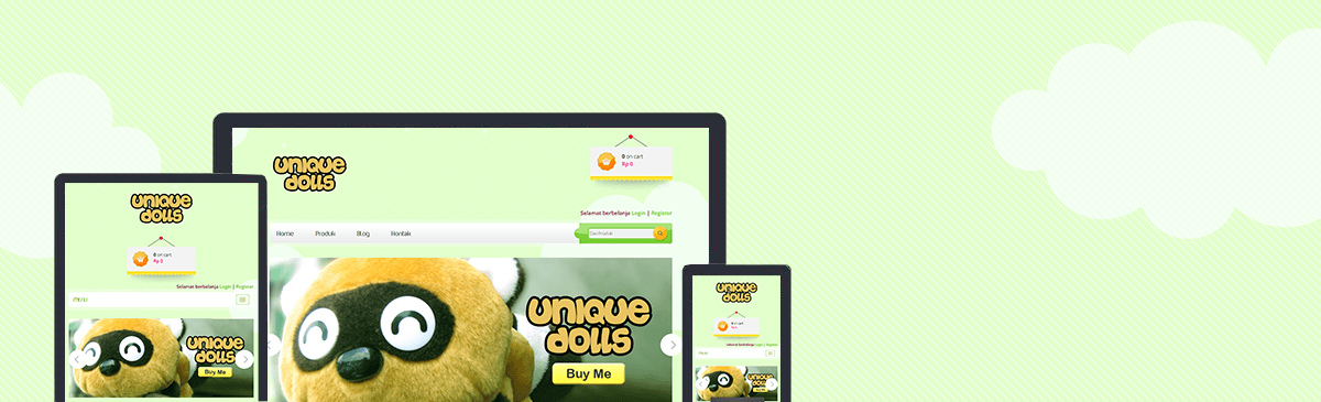 uniquedolls template store